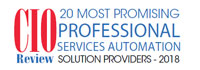 Top 20 Professional Services Automation Solution Companies - 2018